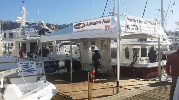 AT at Seattle Boats Afloat 2014