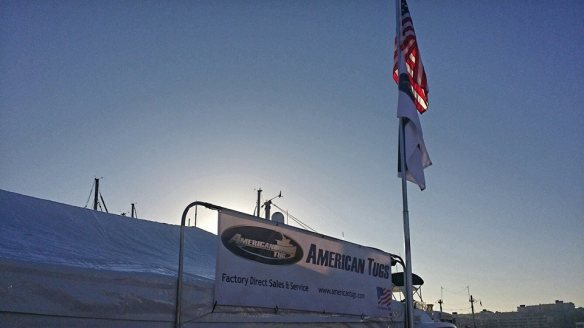 AT Seattle Boats Afloat 2014 - flag